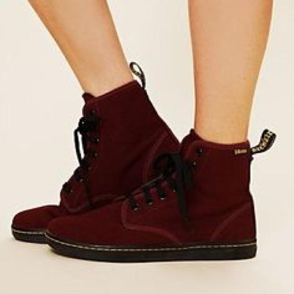 0499b7205d75 Dr. Martens Shoes - Dr. Martens (Doc Martens) Shoreditch Canvas Boots